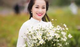 Minh Hương 'Nhật ký Vàng Anh' xinh đẹp khoe sắc cùng cúc họa mi