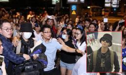 Yesung (Super Junior) bị fans Việt bao vây chật kín ở sân bay