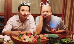 Cười rũ ruột với ảnh Đức Hùng, Diễm Quỳnh và đạo diễn Thanh Hải họp bàn Táo quân 2017