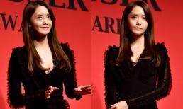 Yoona (SNSD) khéo để lộ ngực đầy khi xuất hiện lung linh trên thảm đỏ