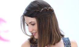 3 cách tạo kiểu cho tóc ngắn giúp bạn gái thêm điệu đà