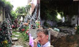 Gần đến Noel nhưng khung cảnh trong nhà Đàm Vĩnh Hưng vẫn tan hoang