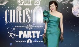 Hoa hậu Giáng My tổ chức tiệc Giáng sinh hoành tráng tại biệt thự riêng