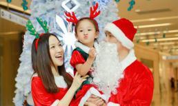 Gia đình Phan Đình Tùng hạnh phúc đón Noel 2016