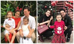 Gia đình Hồng Nhung, Trang Nhung khoe loạt ảnh hạnh phúc đón Giáng sinh