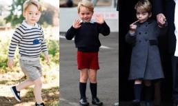 Lý do Hoàng tử nhí nước Anh luôn mặc quần soóc, kể cả vào mùa Đông