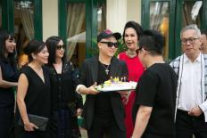Đỗ Mạnh Cường tổ chức tiệc sinh nhật bên các 'nàng thơ'