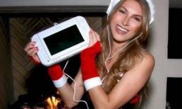Ham chụp ảnh Giáng sinh, cô gái đã giật thót mình khi phát hiện điều này