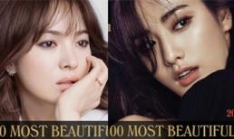 Lộ diện mỹ nhân châu Á lọt Top 100 gương mặt đẹp nhất thế giới 2016