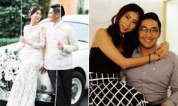 Loạt ảnh hạnh phúc của chị chồng Tăng Thanh Hà bên ông xã