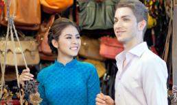 Vân Trang thon gọn bất ngờ trong loạt ảnh Tết
