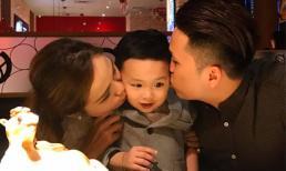 Vợ chồng Hoa hậu Diễm Hương tổ chức sinh nhật cho con trai