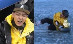 Fans lo lắng vì Lâm Chí Dĩnh gặp tai nạn khi đang ghi hình