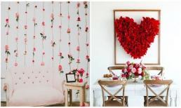 Học lỏm cách trang trí căn nhà cho dịp Valentine 2017 siêu lãng mạn