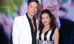 Vợ chồng diễn viên Bình Minh tình tứ trên thảm đỏ