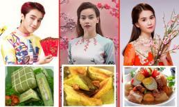 Sao Việt thích ăn món gì trong ngày Tết?