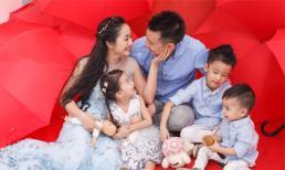 Gia đình Ốc Thanh Vân bên nhau ngày xuân