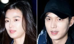 """Lee Min Ho và Jeon Ji Hyun xuất hiện ấm áp trong buổi tiệc mừng thành công """"Huyền thoại biển xanh"""""""