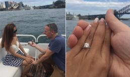 Lý Thanh Thảo được chồng Tây bất ngờ cầu hôn tại Úc