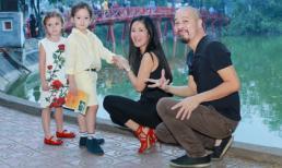 Tôm Tép tung tăng du xuân cùng mẹ Hồng Nhung và NTK Đức Hùng