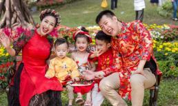 Gia đình Ốc Thanh Vân rộn ràng đi du xuân