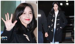 Mặc giản dị, Yoona vẫn đẹp hút hồn tại sân bay Hàn khi chuẩn bị sang Việt Nam