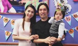 Ngọc Quyên và chồng tổ chức tiệc thôi nôi cho con trai