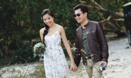 Ảnh cưới lãng mạn của Á hậu Kiều Khanh và chồng