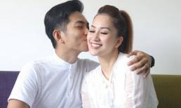 Phan Hiển ngọt ngào hôn vợ Khánh Thi