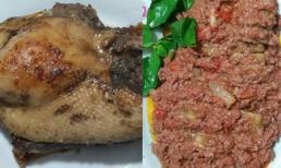 Cách làm món vịt ướp rán ăn cùng sốt pate