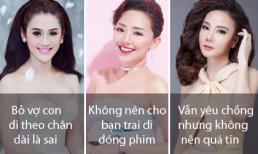 Từ chuyện Lâm Vinh Hải - vợ cũ và Linh Chi, sao Việt rút ra được nhiều bài học về tình yêu