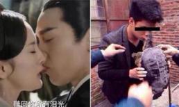 Nụ hôn sâu gây sốt của Dương Mịch và Triệu Hựu Đình