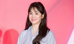 Song Hye Kyo 'đẹp từng centimet' khi xuất hiện tại Đài Loan