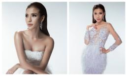 Thúy Diễm thách thức ánh nhìn với váy xẻ sâu đẹp tựa nữ thần