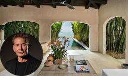 Cận cảnh siêu dinh thự tuyệt đẹp của nhà thiết kế lừng danh Calvin Klein