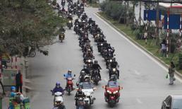 Dàn mô tô 'siêu khủng' diễu hành tưởng nhớ Trần Lập