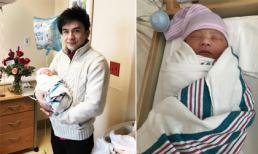 Vợ Đan Trường sinh con trai đầu lòng nặng 3,5 kg