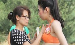 Phản ứng của mẹ Tú Anh khi con gái mắc lỗi trên sóng truyền hình