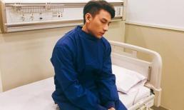 Isaac phải nhập viện điều trị tại Hàn Quốc