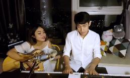 Quang Đăng đệm đàn, hòa giọng cùng 'người tình' Thái Trinh