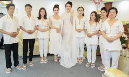 Hoa Hậu Huỳnh Thuý Anh khai trương Diamond Clinic & Spa