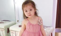 Cadie mặc váy hồng xinh như 'công chúa'