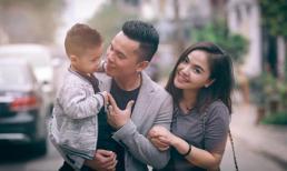 Khoảnh khắc hạnh phúc của gia đình nhạc sĩ Tú Dưa