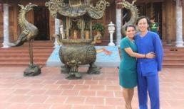 NSƯT Ngọc Huyền đến thăm nhà thờ tổ của Hoài Linh ngay khi về nước