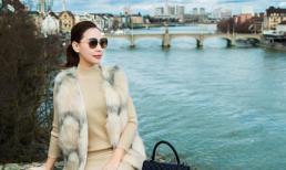 Người mẫu Quỳnh Thư rạng rỡ ở Thụy Sĩ