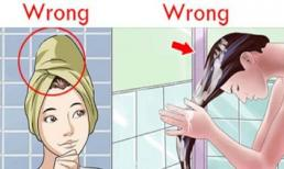 Tóc rụng cả nắm to cũng hết với cách gội đầu chuẩn sau