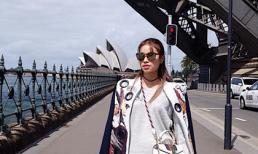 Hoa hậu Phạm Hương sành điệu ở Úc