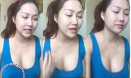 Livestream không mặc áo ngực, Phi Thanh Vân lộ vòng một 'xập xệ'