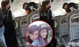 Châu Kiệt Luân bị chỉ trích vì để vợ bầu đi máy bay hạng bình dân chật chội