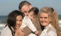 Khoảnh khắc ngọt ngào của gia đình Phương Vy khi đi du lịch Mũi Né